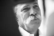 October 27-29, 2017: Mexican Grand Prix. Chase Carey, Chairman of the Formula One Group., Guenther Steiner, Haas F1 Team Principle
