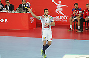 Romain Lagarde (France) during the EHF 2018 Men's European Championship, 2nd Round, Handball match between Serbia and France on January 22, 2018 at the Arena in Zagreb, Croatia - Photo Laurent Lairys / ProSportsImages / DPPI