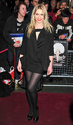 © under license to London News Pictures. 11/03/2011. Zoe Salmon Attends the press night of The Hurly Burly Show at the Garrick Theatre London . Photo credit should read Alan Roxborough/LNP