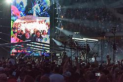 Grateful Dead Concert at Chicago's Soldier Field. 5 July 2015.