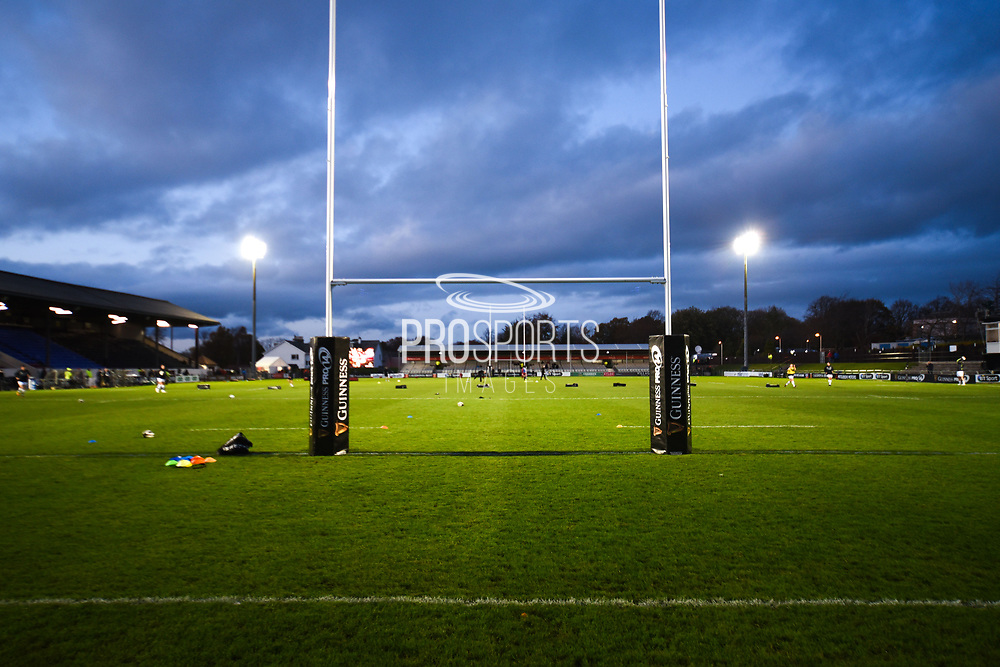 Myreside pitch looks good ahead of the Guinness Pro 14 2017_18 match between Edinburgh Rugby and Ospreys at Myreside Stadium, Edinburgh, Scotland on 4 November 2017. Photo by Kevin Murray.