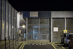 © Licensed to London News Pictures . 21/07/2015. Rochdale , UK . Vehicle entrance to HMP Buckley Hall prison . Two prisoners stage a rooftop demonstration at HMP Buckley Hall overnight (20th/21st July 2015) a week after the Chief Prisons' Inspector Nick Hardwick warned that prisons in England and Wales are in their worst state for 10 years . Photo credit: Joel Goodman/LNP