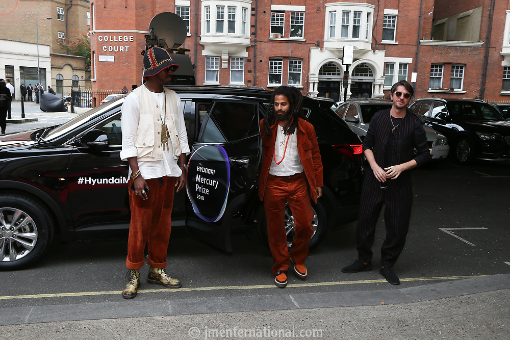 Sons of Kemet car arrival