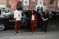 Sons of Kemet car arrival