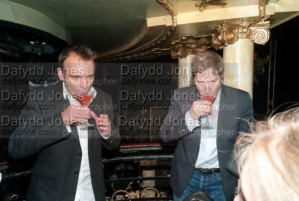 MATTHEW WARCHUS; DAVID HIRSON, LA BæTE PRESS NIGHT, COMEDY THEATRE, PANTON STREET, SW1 After party at CafŽ de Paris, 3-4 Coventry Street, 7 July 2010. .-DO NOT ARCHIVE-© Copyright Photograph by Dafydd Jones. 248 Clapham Rd. London SW9 0PZ. Tel 0207 820 0771. www.dafjones.com.<br /> MATTHEW WARCHUS; DAVID HIRSON, LA BÊTE PRESS NIGHT, COMEDY THEATRE, PANTON STREET, SW1 After party at Café de Paris, 3-4 Coventry Street, 7 July 2010. .-DO NOT ARCHIVE-© Copyright Photograph by Dafydd Jones. 248 Clapham Rd. London SW9 0PZ. Tel 0207 820 0771. www.dafjones.com.