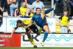 Josh Hare of Bristol Rovers challenges Kieran Wallace of Burton Albion - Mandatory by-line: Robbie Stephenson/JMP - 31/08/2019 - FOOTBALL - Pirelli Stadium - Burton upon Trent, England - Burton Albion v Bristol Rovers - Sky Bet League One