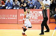 Pietro Aradori<br /> Grissin Bon Pallacanestro Reggio Emilia - Fiat Auxilium Torino<br /> Lega Basket Serie A 2016/2017<br /> Reggio Emilia, 15/04/2017<br /> Foto A.Giberti / Ciamillo - Castoria