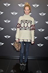 Monday 18th November 2013 saw a host of London hipsters, social faces and celebrities, gather together for the much-anticipated World Premiere of the brand new MINI.<br /> Attendees were among the very first in the world to see and experience the new MINI, exclusively revealed to guests during the party. Taking place in the iconic London venue of the Old Sorting Office, 21-31 New Oxford Street, London guests enjoyed a DJ set from Little Dragon, before enjoying an exciting live performance from British band Fenech-Soler.<br /> Picture Shows:-POPPY DELEVINGNE