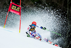 "Petra Vlhova (SVK) competes during 1st Run of the FIS Alpine Ski World Cup 2017/18 5th Ladies' Giant Slalom race named ""Golden Fox 2018"", on January 6, 2018 in Podkoren, Kranjska Gora, Slovenia. Photo by Ziga Zupan / Sportida"