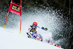 "Petra Vlhova (SVK) competes during 1st Run of the FIS Alpine Ski World Cup 2017/18 5th Ladies' Giant Slalom race named ""Golden Fox 2018"", on January 6, 2018 in Podkoren, Kranjska Gora, Slovenia. Photo by Ziga Zupan / Sportida"