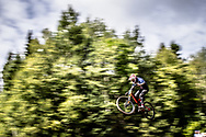 DOOLEY Austin (USA) at 2019 UCI Mountain Bike Downhill World Championships in Mont-Sainte-Anne, Canada.
