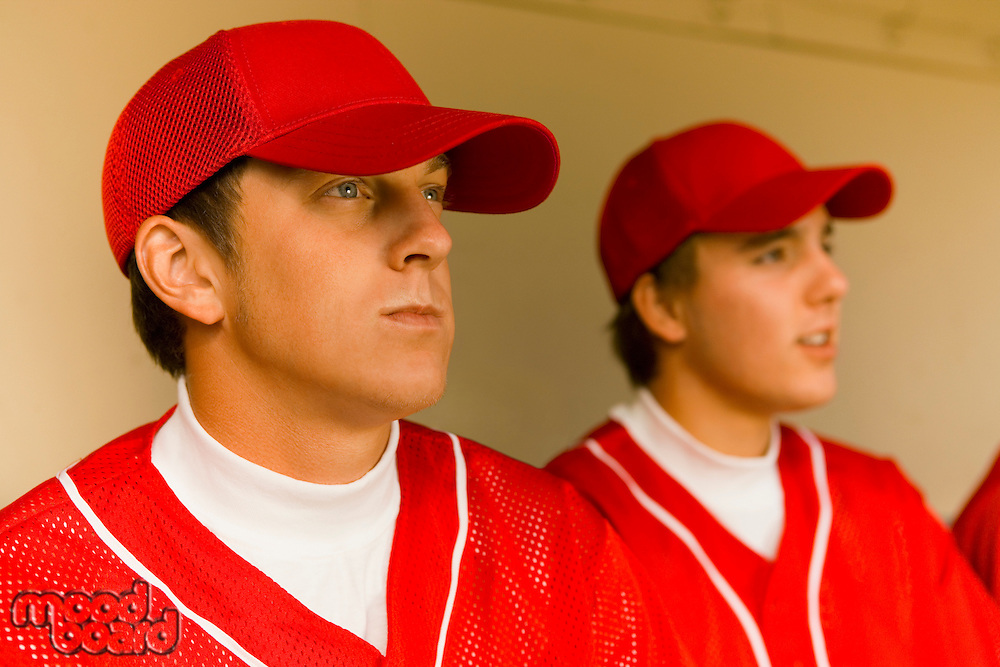Two Baseball Players