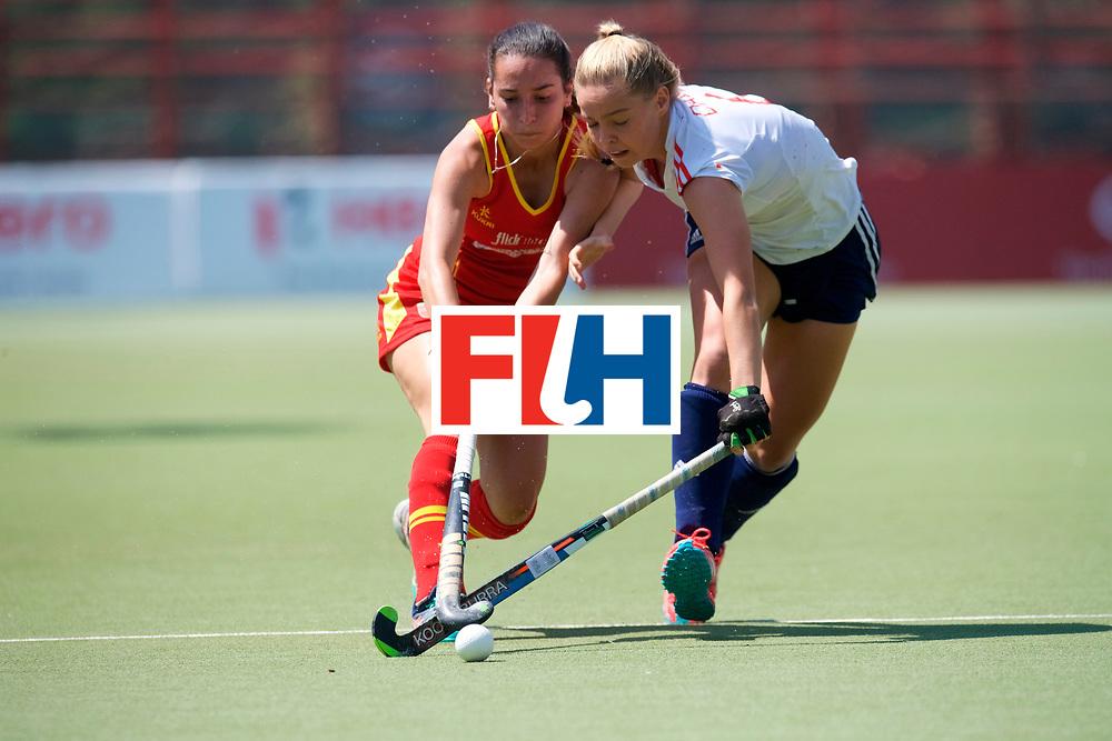 SANTIAGO - 2016 8th Women's Hockey Junior World Cup<br /> ESP v ENG (QF)<br /> foto: <br /> FFU PRESS AGENCY COPYRIGHT FRANK UIJLENBROEK