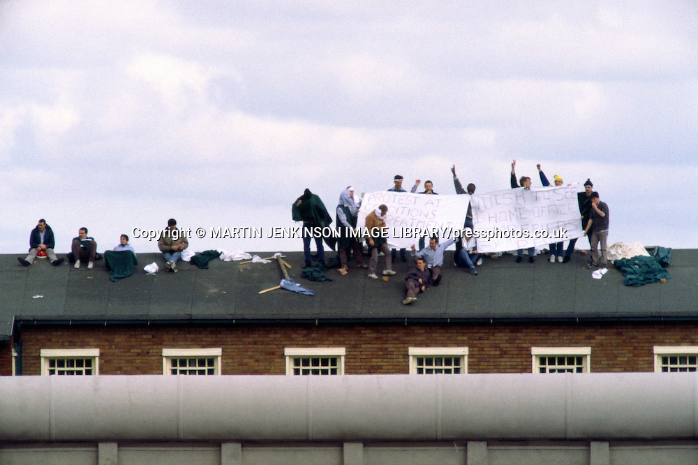 Prisoners in rooftop protest about conditions at Risley Remand Centre ....