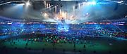 03.08.2014. Glasgow, Scotland. Glasgow Commonwealth Games. Closing Ceremony from Hampden Park. Presentation of Gold Coast Australia