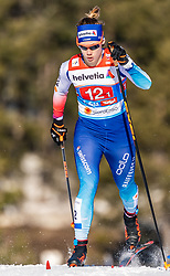 24.02.2019, Langlauf Arena, Seefeld, AUT, FIS Weltmeisterschaften Ski Nordisch, Seefeld 2019, Langlauf, Damen, Teambewerb, im Bild Laurien Van Der Graaf (SUI) // Laurien Van Der Graaf of Switzerland during the ladie's cross country team competition of FIS Nordic Ski World Championships 2019 at the Langlauf Arena in Seefeld, Austria on 2019/02/24. EXPA Pictures © 2019, PhotoCredit: EXPA/ Stefan Adelsberger
