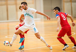 during futsal friendly match between National teams of Slovenia and USA, on January 27, 2016 in Koper, Slovenia. Photo by Vid Ponikvar / Sportida