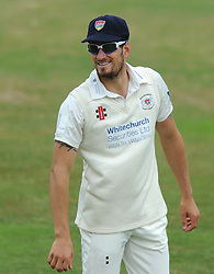 Benny Howell of Gloucestershire - Photo mandatory by-line: Dougie Allward/JMP - Mobile: 07966 386802 - 08/07/2015 - SPORT - Cricket - Cheltenham - Cheltenham College - LV=County Championship 2