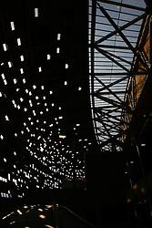 RSA, FIFA WM 2010, Soccer City Stadium Feature.08.06.2010, Soccer City Stadium, Johannesburg, RSA, FIFA WM 2010, Soccer City Stadium Feature im Bild Übersicht des Aufgangs der Fans im Stadion, EXPA Pictures © 2010, PhotoCredit: EXPA/ IPS/ Mark Atkins / SPORTIDA PHOTO AGENCY