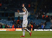 Leeds United midfielder Pablo Hernandez applauds the fans at full time  during the EFL Sky Bet Championship match between Leeds United and Bolton Wanderers at Elland Road, Leeds, England on 30 March 2018. Picture by Paul Thompson.