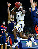 NCAA Basketball - Notre Dame Fighting Irish vs Virginia Cavaliers - South Bend, In