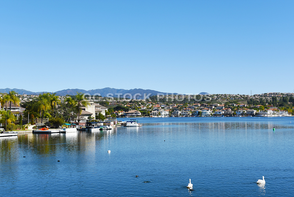 Waterfront Homes on Lake Mission Viejo in Orange County