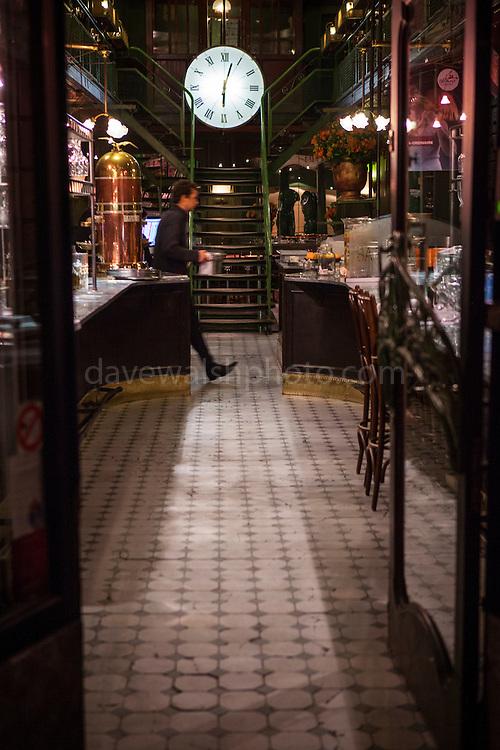 La Quincaillerie restaurant, Ixelles, Brussels, Belgium