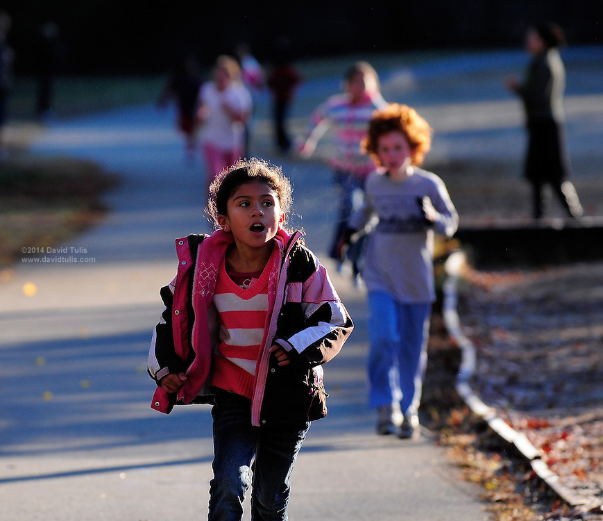 The Sagamore Hills Elementary School annual Turkey Trot running race brings out fierce competitors on November 18, 2011.   (David Tulis/dtulis@gmail.com)