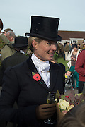 PHILIPPA HOLLAND, Side-Saddle Dash, Southern Spinal Injuries Trust charity Day. Wincanotn. 25 October 2015.