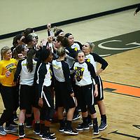 Women's Basketball: Gustavus Adolphus College Gusties vs. University of Wisconsin, Superior Yellow Jackets