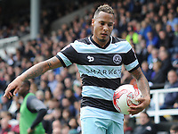 Football - 2016 /2017 Championship - Fulham vs Queens Park Rangers<br /> <br /> Tjaronn Chery of QPR at Craven Cottage<br /> <br /> Credit : Colorsport / Andrew Cowie