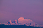 Mount Baker, located in Washington state, is the second most active volcano in the Cascade mountain range. Baker, also known as Koma Kulshan, stands 10,778 feet (3,285 m) tall.
