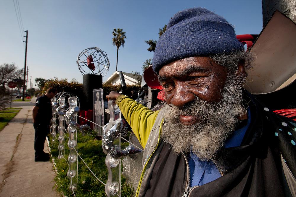 Street scene. Jan. 29, 2011. Los Angeles, Calif. (photo by Gabriel Romero ©2011)