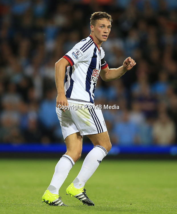 West Bromwich Albion's James Chester.