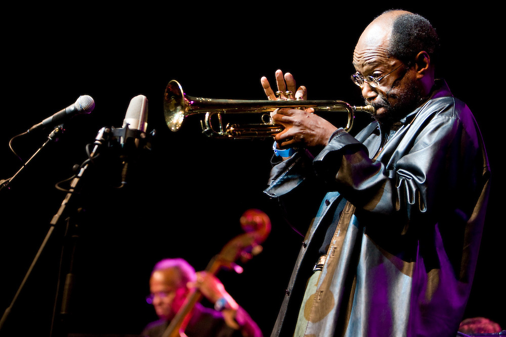 Nederland. Rotterdam, 13 juli 2007.<br /> North Sea Jazz festival.Charles Tolliver.<br /> Foto Martijn Beekman <br /> NIET VOOR TROUW, AD, TELEGRAAF, NRC EN HET PAROOL