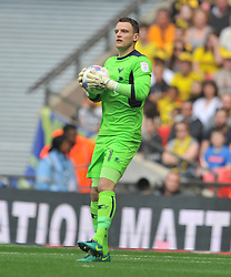 SIMON EASTWOOD GOALKEEPER OXFORD UNITED, Coventry City v Oxford United, EFL Checkatrade Trophy Final, Wembley Stadium Sunday 2nd April 2017, <br /> Score Coventry 2-1 Oxford<br /> PhotoMike Capps