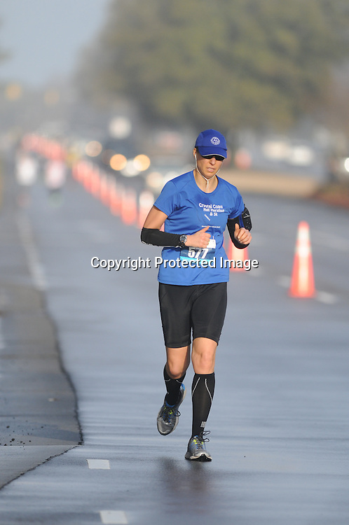 Runners participate in Race 13.1 Sunday February 22, 2015 in Wilmington, N.C. (Jason A. Frizzelle)