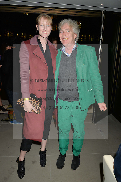 JADE PARFITT and MATTHEW HORTON at the launch of Broadgate Circle, City of London on 9th June 2015.