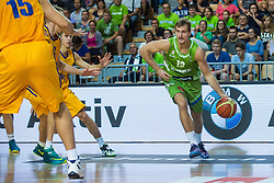 Zoran Dragic of Slovenia during friendly basketball match between National teams of Slovenia and Ukraineat day 1 of Adecco Cup 2015, on August 21 in Koper, Slovenia. Photo by Grega Valancic / Sportida