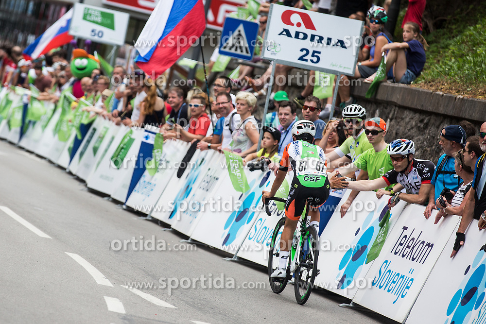 Daniel Savini (ITA) of Bardiani CSF after 3rd Stage of 26th Tour of Slovenia 2019 cycling race between Zalec and Idrija (169,8 km), on June 21, 2019 in Slovenia. Photo by Peter Podobnik / Sportida