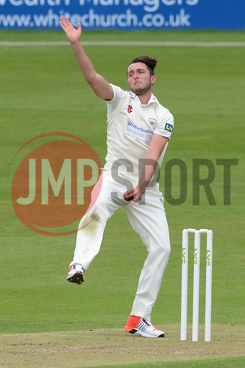 Matt Taylor of Gloucestershire - Photo mandatory by-line: Dougie Allward/JMP - Mobile: 07966 386802 - 19/05/2015 - SPORT - Cricket - Bristol - County Ground - Gloucestershire v Kent - LV=County Cricket Division 2