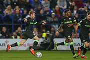 Forest Green Rovers George Williams(11) runs forward during the EFL Sky Bet League 2 play off first leg match between Tranmere Rovers and Forest Green Rovers at Prenton Park, Birkenhead, England on 10 May 2019.