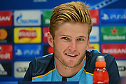 Eric Dier during Tottenham Hotspur pre match Press Conference  at Tottenham Training Centre, Enfield, United Kingdom on 13 September 2016. Photo by Jon Bromley.