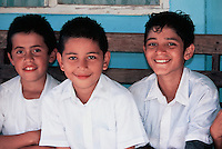 School boys near Lake Arenal (Laguna de Arenal)