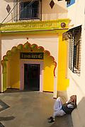 Mosque on the way down to Banganga Tank, Mumbai.