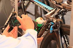 Ischia, Italy - Giro d'Italia Stage 2: Ischia - Forio (TTT) - May 5, 2013 - Pinarello bike of Sky Procycling