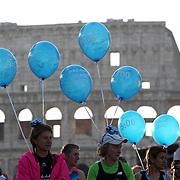 Roma 07/04/2018 <br /> Maratona di Roma 2018 <br /> 24ma edizione<br /> i palloncini dei pacer