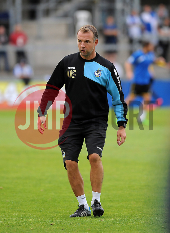 Bristol Rovers assistant manager,Marcus Stewart - Mandatory by-line: Neil Brookman/JMP - 21/07/2015 - SPORT - FOOTBALL - Bristol,England - Memorial Stadium - Bristol Rovers v Reading - Pre-Season Friendly
