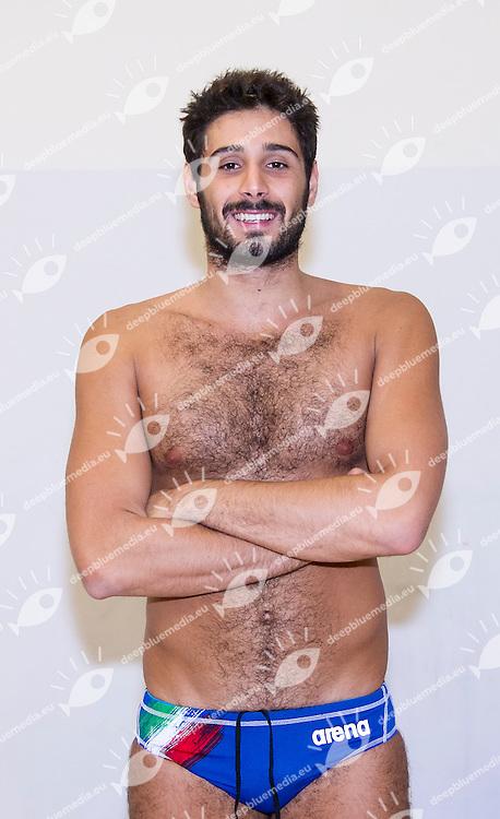 Vincenzo Renzuto ITA<br /> Italy Vs. Turkey <br /> FINA Water Polo World League 2015-16 ITA-TUR<br /> Photo G. Scala/Deepbluemedia