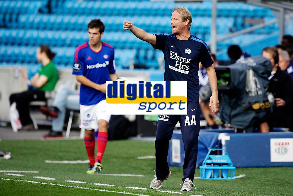 Fotball<br /> Tippeligaen<br /> Ullev&aring;l Stadion 31.08.12<br /> V&aring;lerenga VIF - Sandnes Ulf<br /> <br /> Foto: Eirik F&oslash;rde